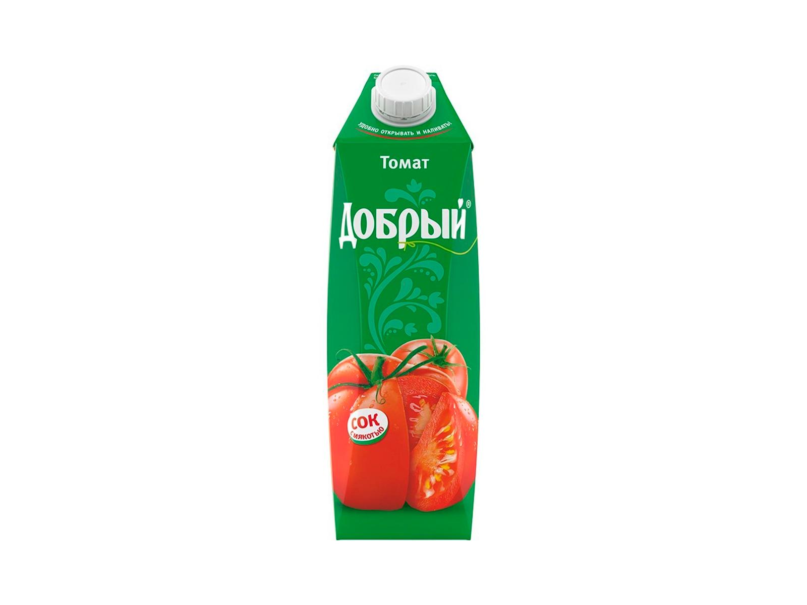 Сок Добрый томат