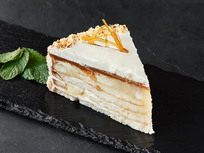 Торт Карамельно-Медовый
