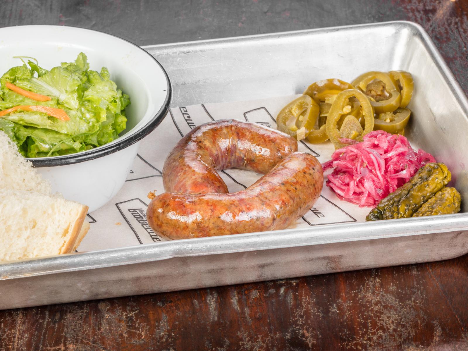 Техасские колбаски из говядины со свининой