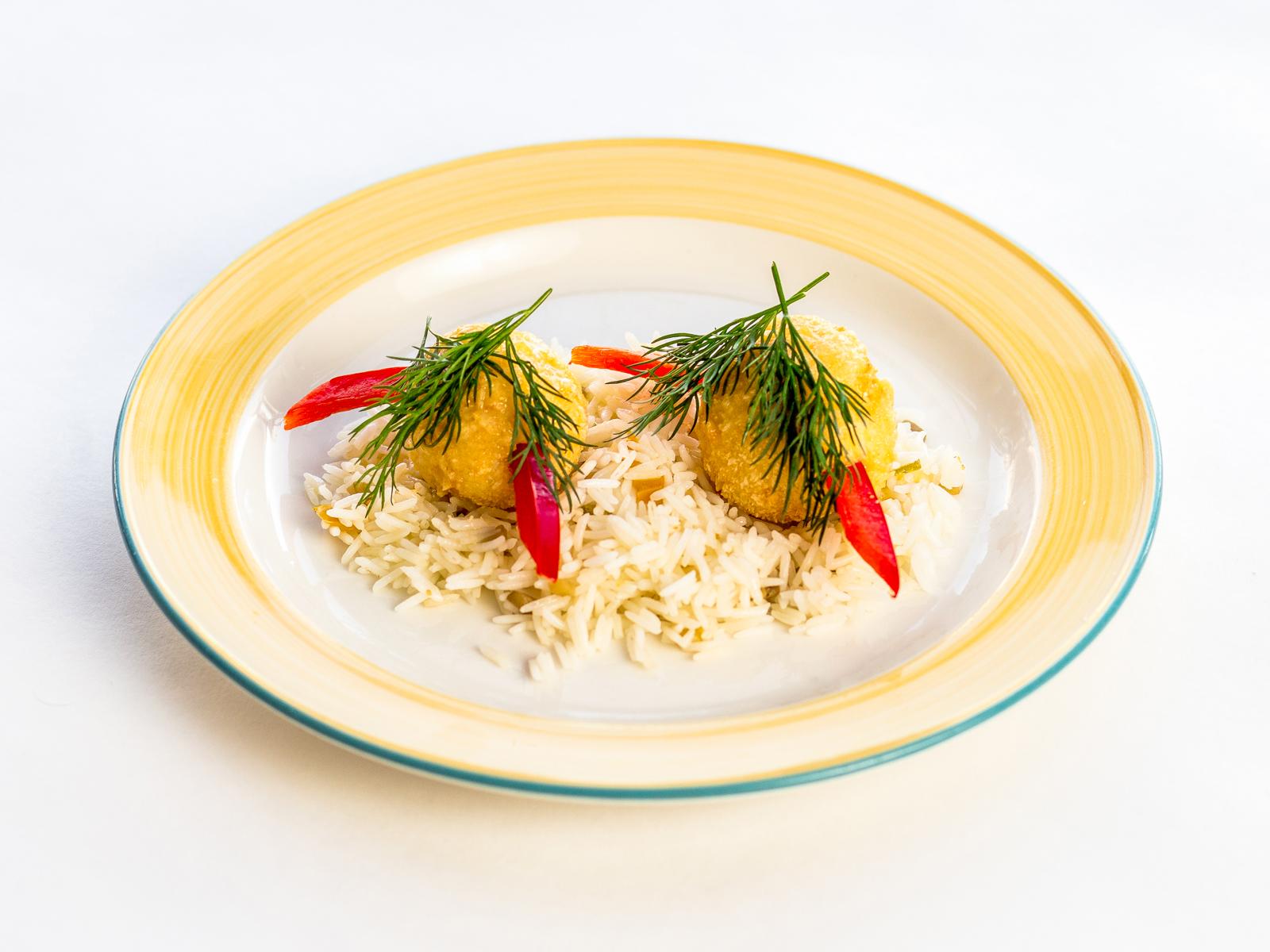 Смешные шарики с рисом