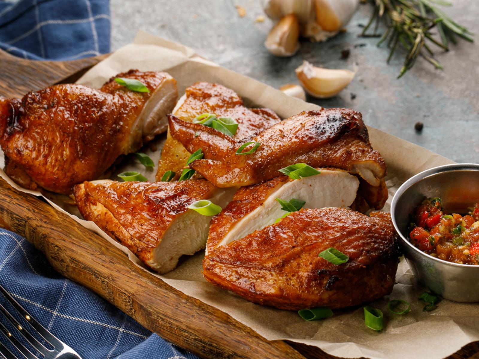 Цыпленок копченый