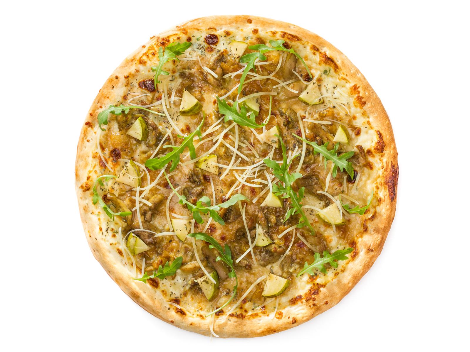 Пицца с индейкой терияки