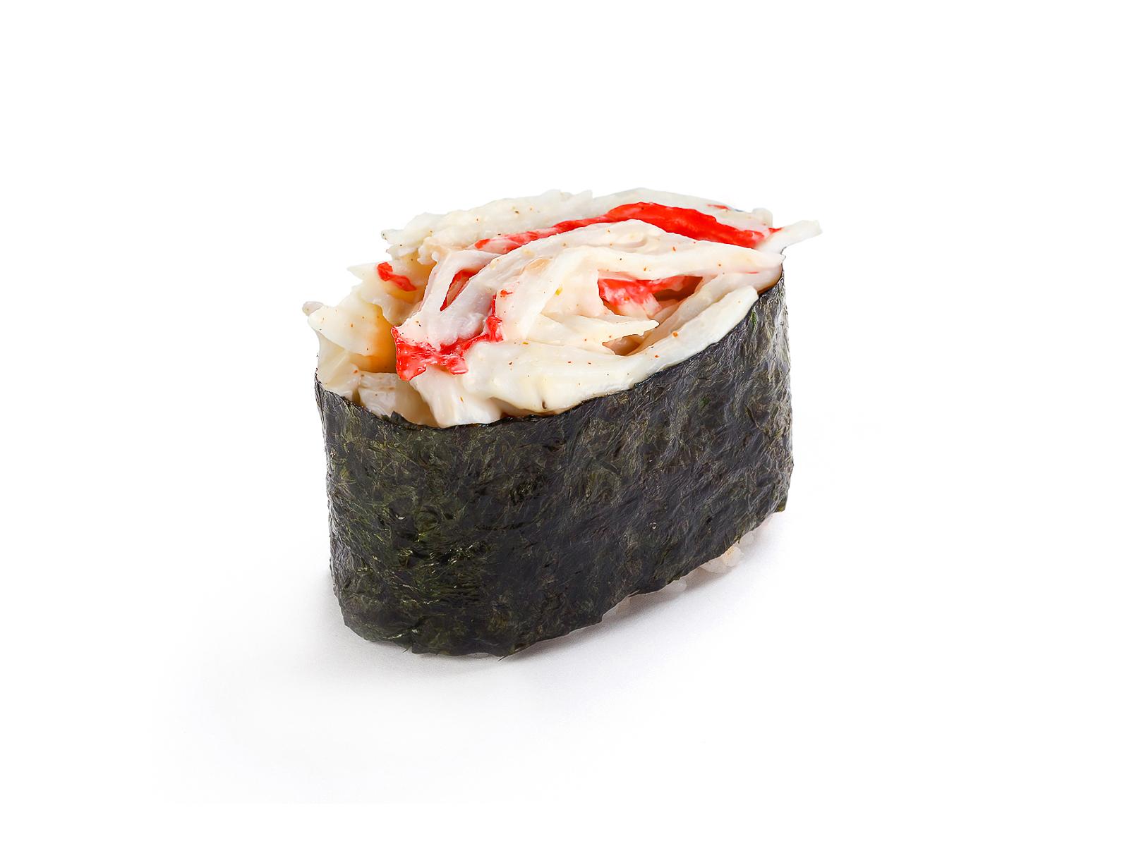 Суши спайс с крабом