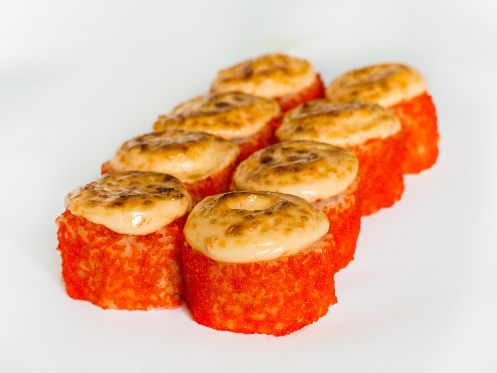 Ролл Запеченный Нежный лосось