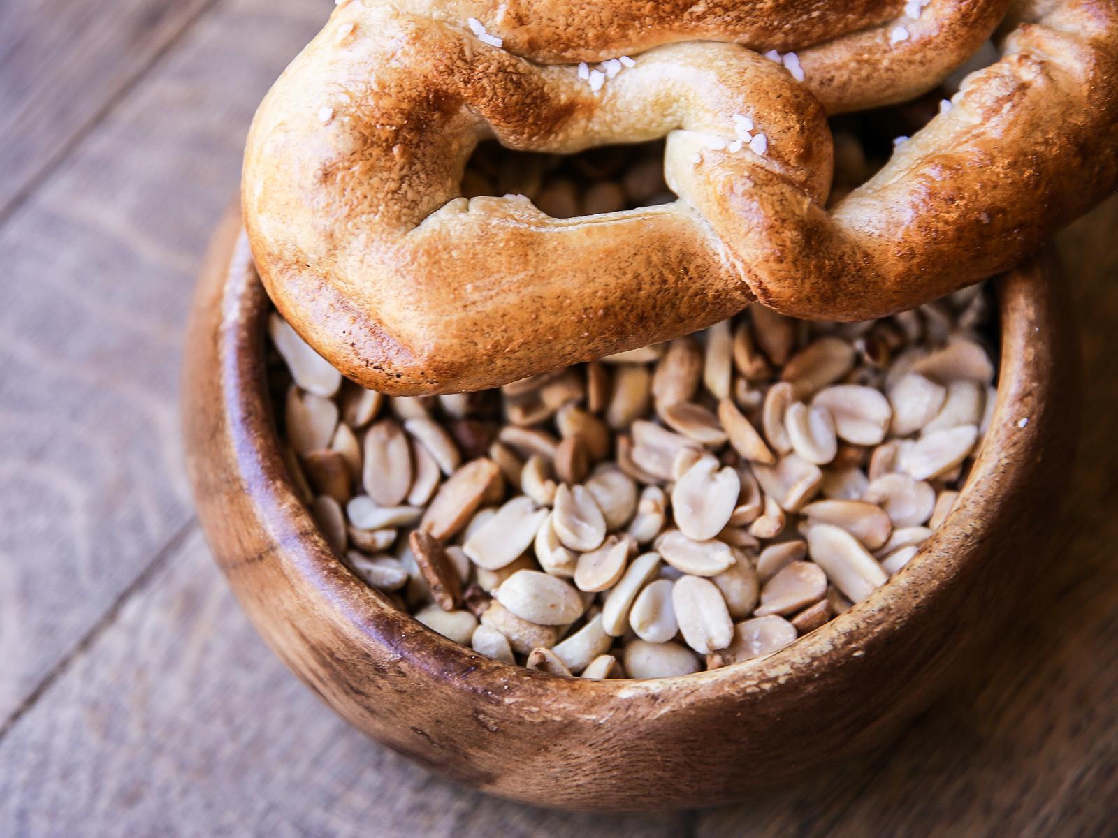 Соленые орешки