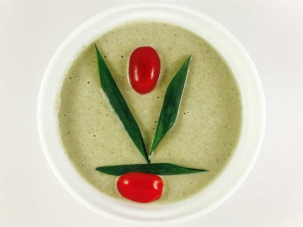 Крем-суп кабачок-грибы