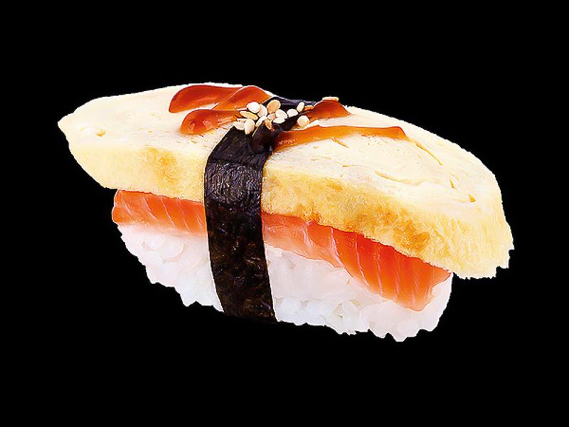 Сяке тамаго суши