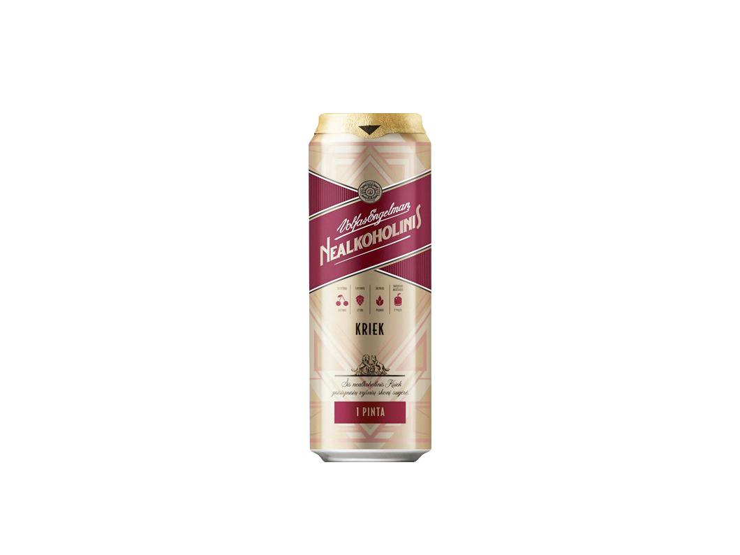 Пиво безалкогольное Volfas Engelman Kriek