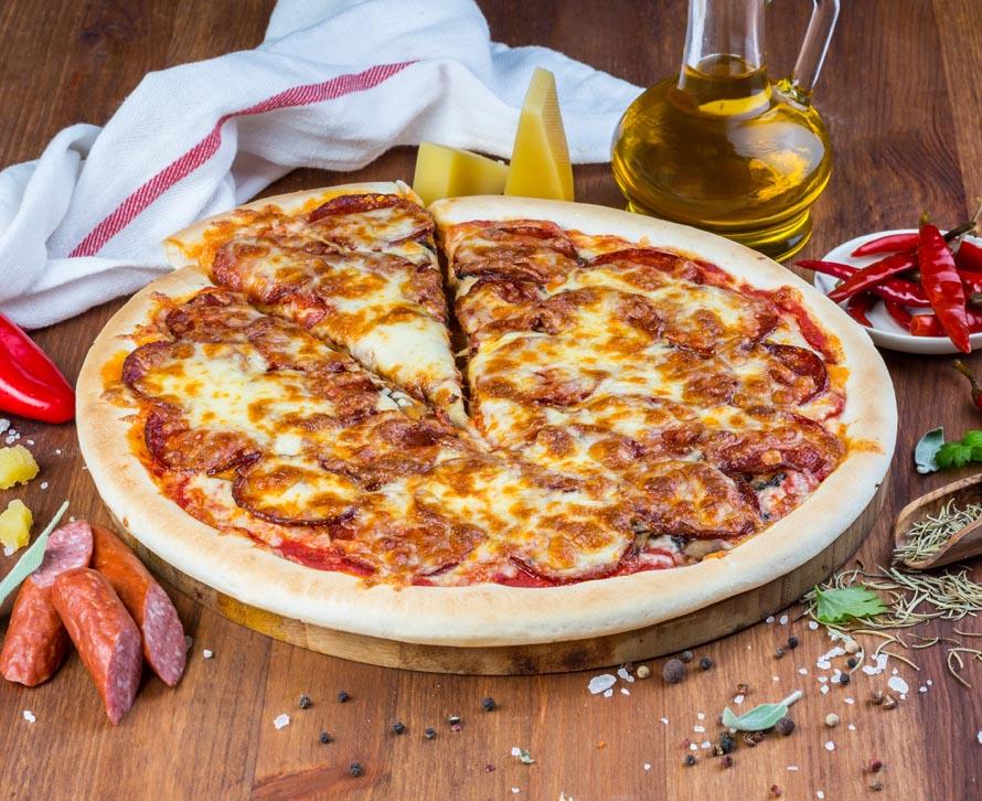Пицца Пепперони с двойной начинкой