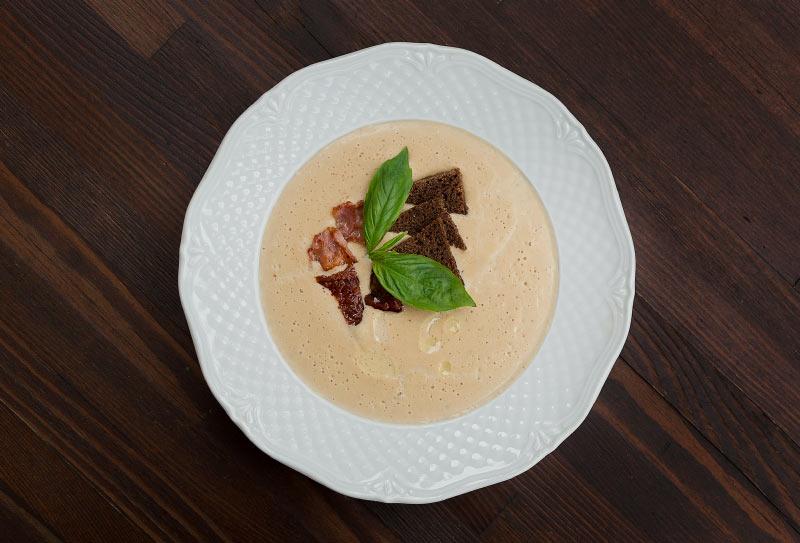 Крем-суп из каштана