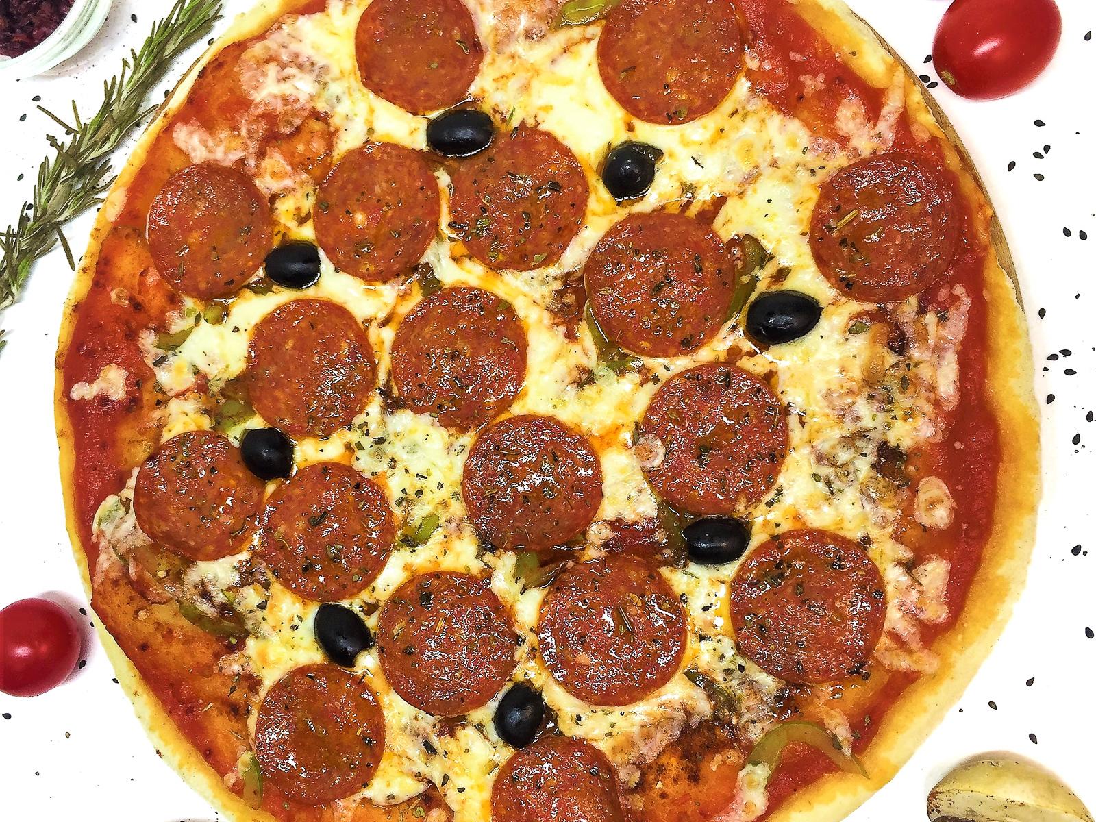 Пицца Пламенный привет