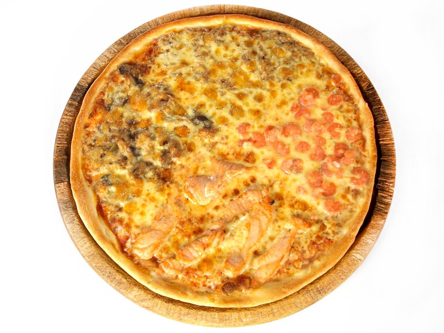 Пицца Куатро Песке