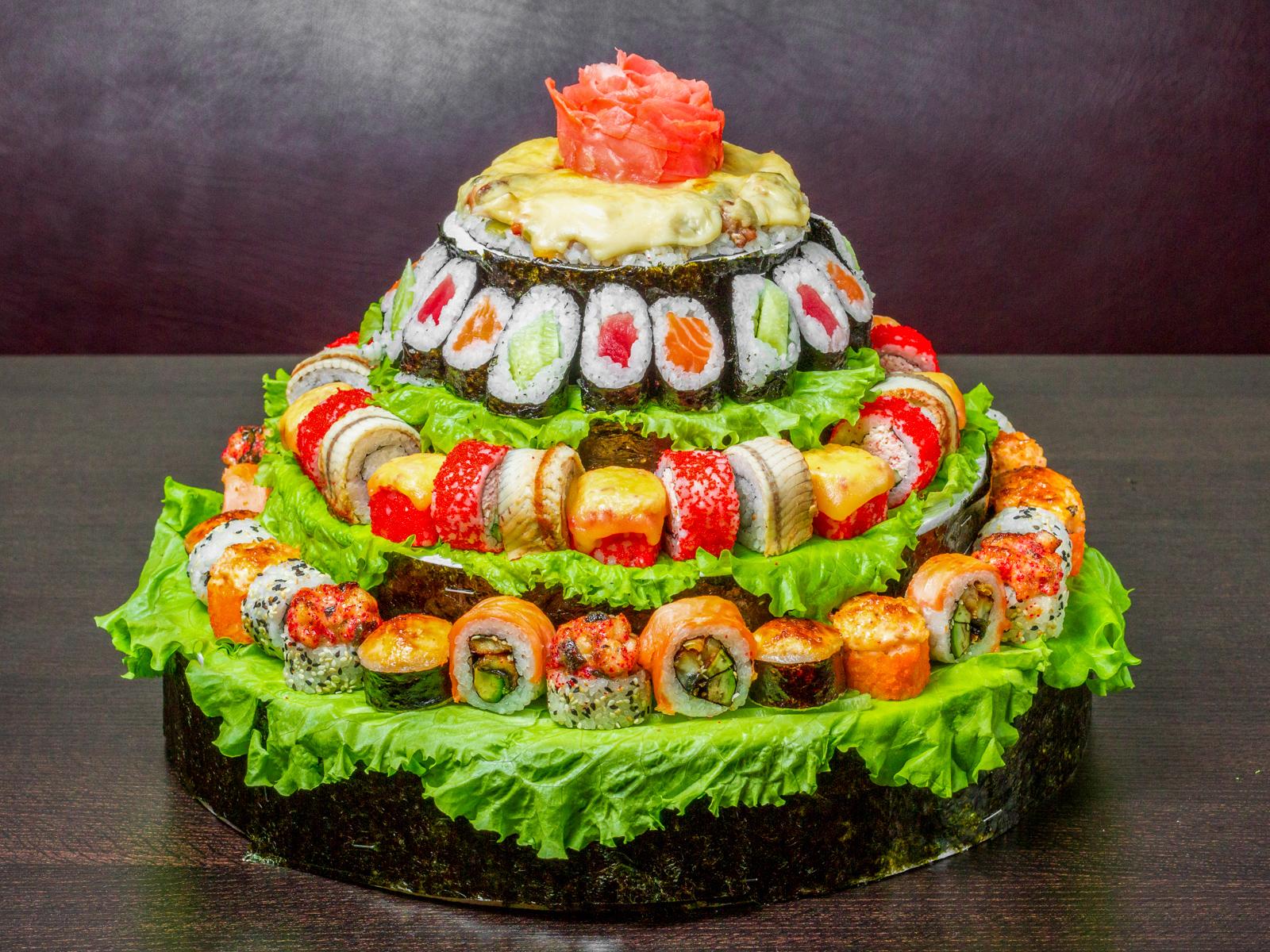 Сет Суши-торт