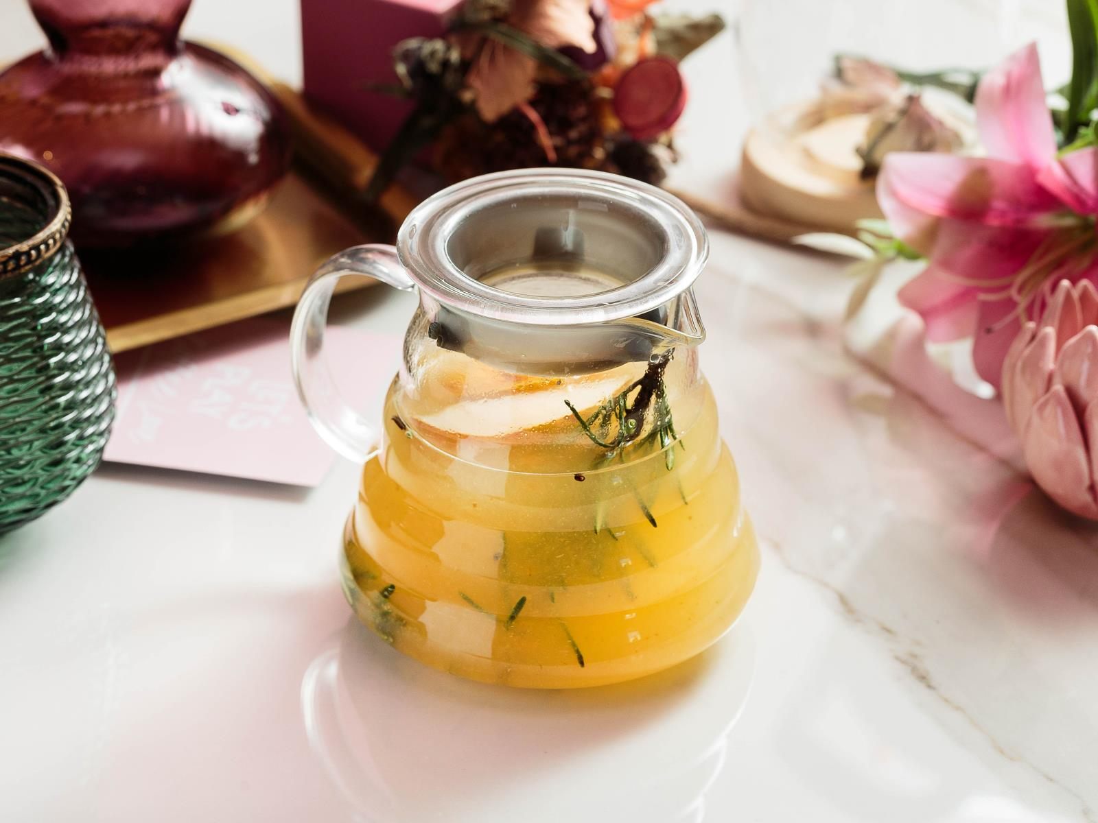 Чай грушевый с розмарином