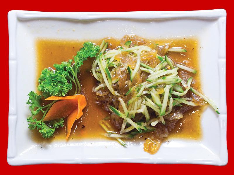 Салат из медузы