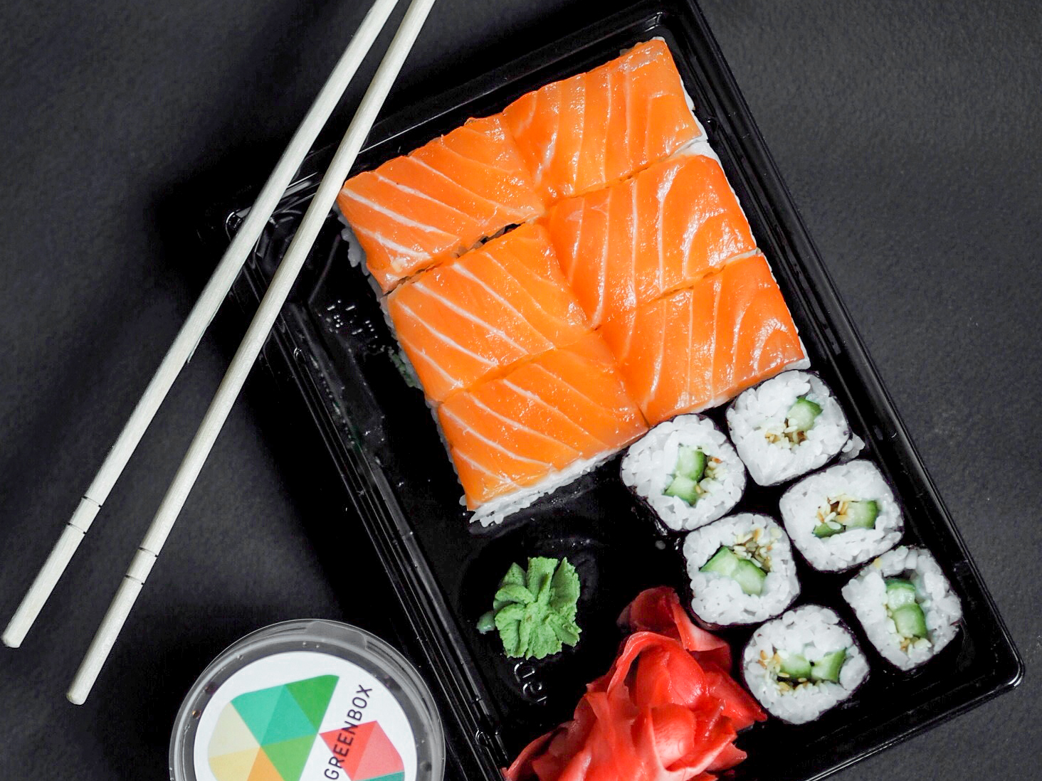 Суши Sushibox Рыбная корзинка