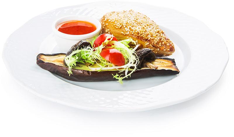 Куриное филе с соусом терияки