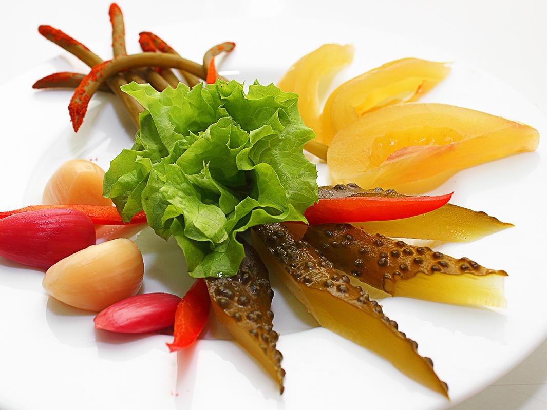 Соления овощные