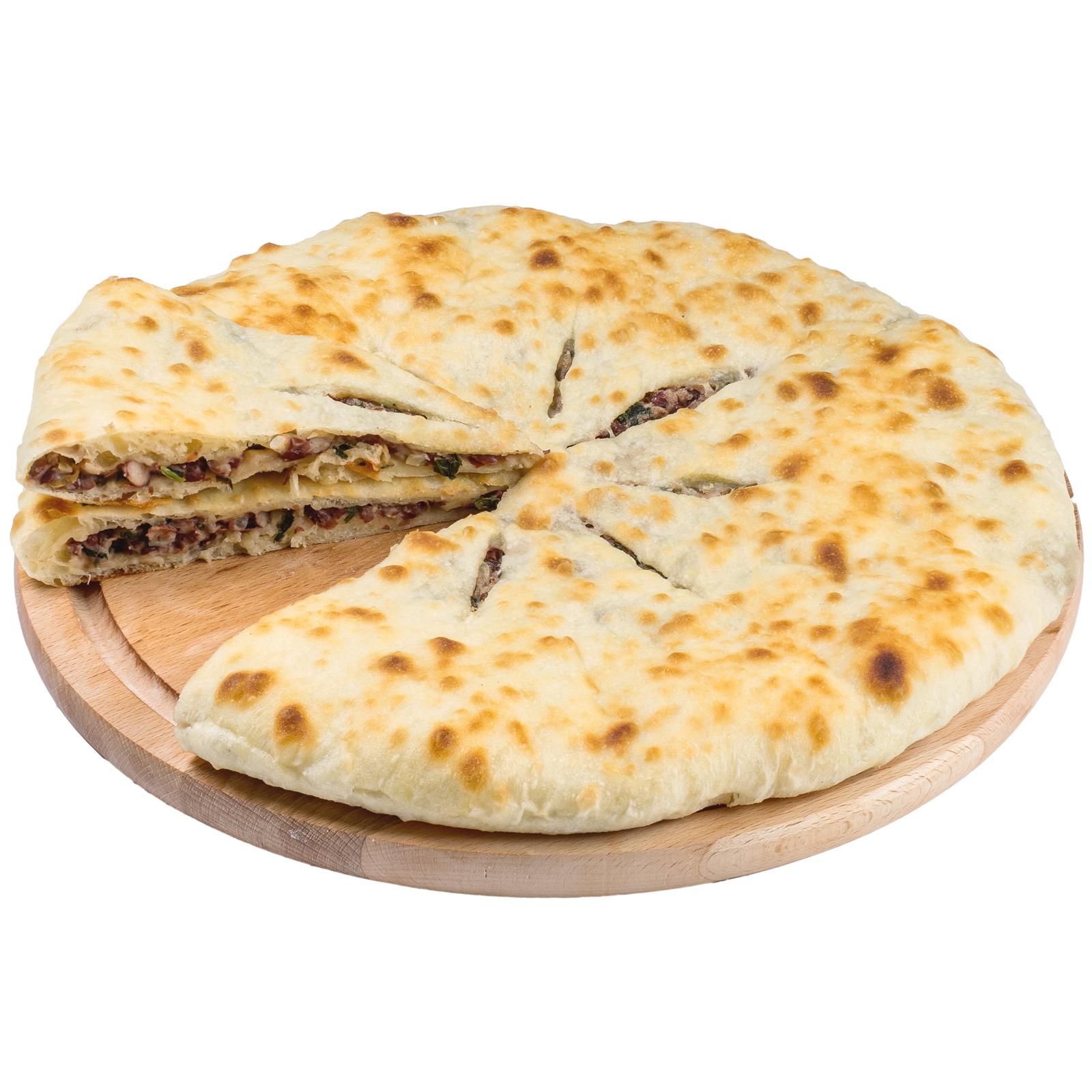 Пирог осетинский с фасолью