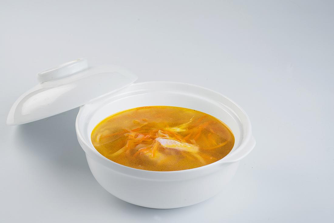 Суп с куриной лапшой