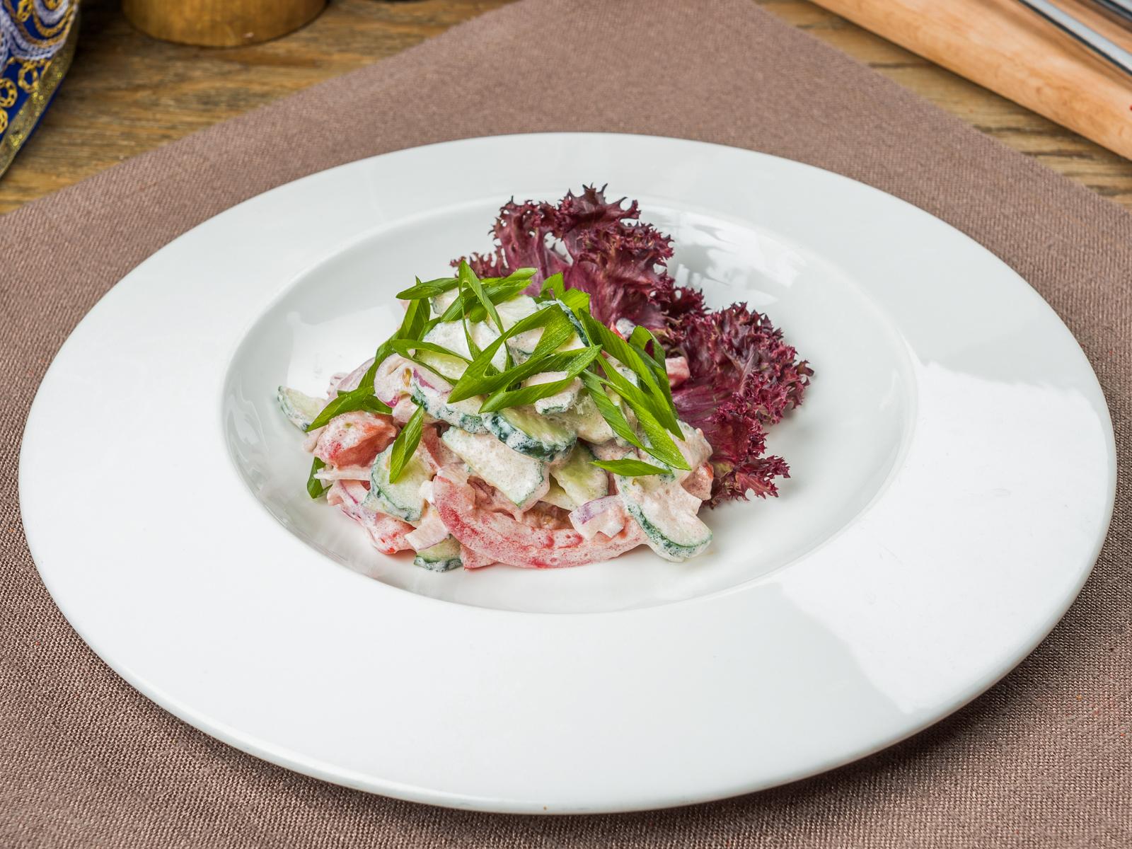 Салат Овощной с сузьмой