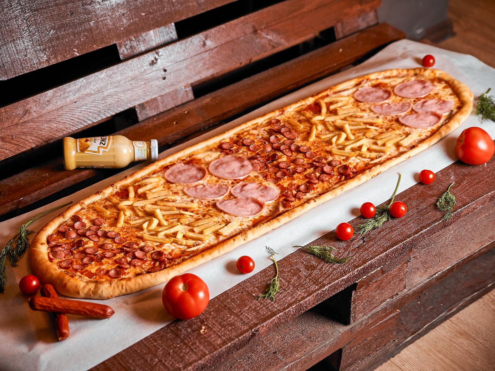 Пицца Студенческая метровая