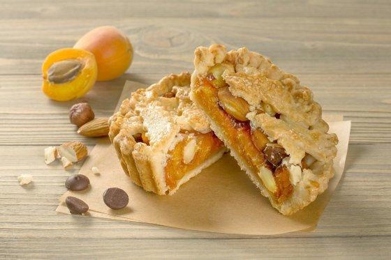 Пирог Вяленые абрикосы с шоколадом