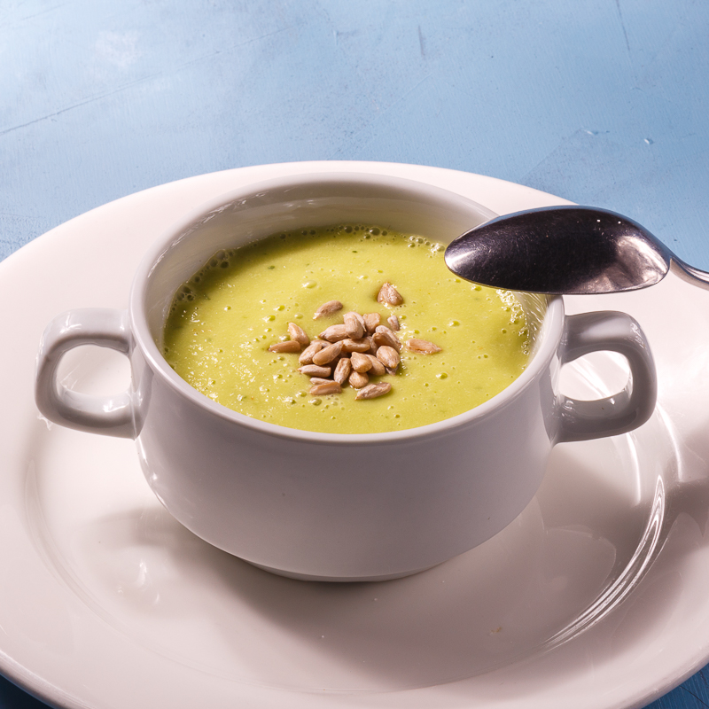 Крем-суп из пророщенной гречки