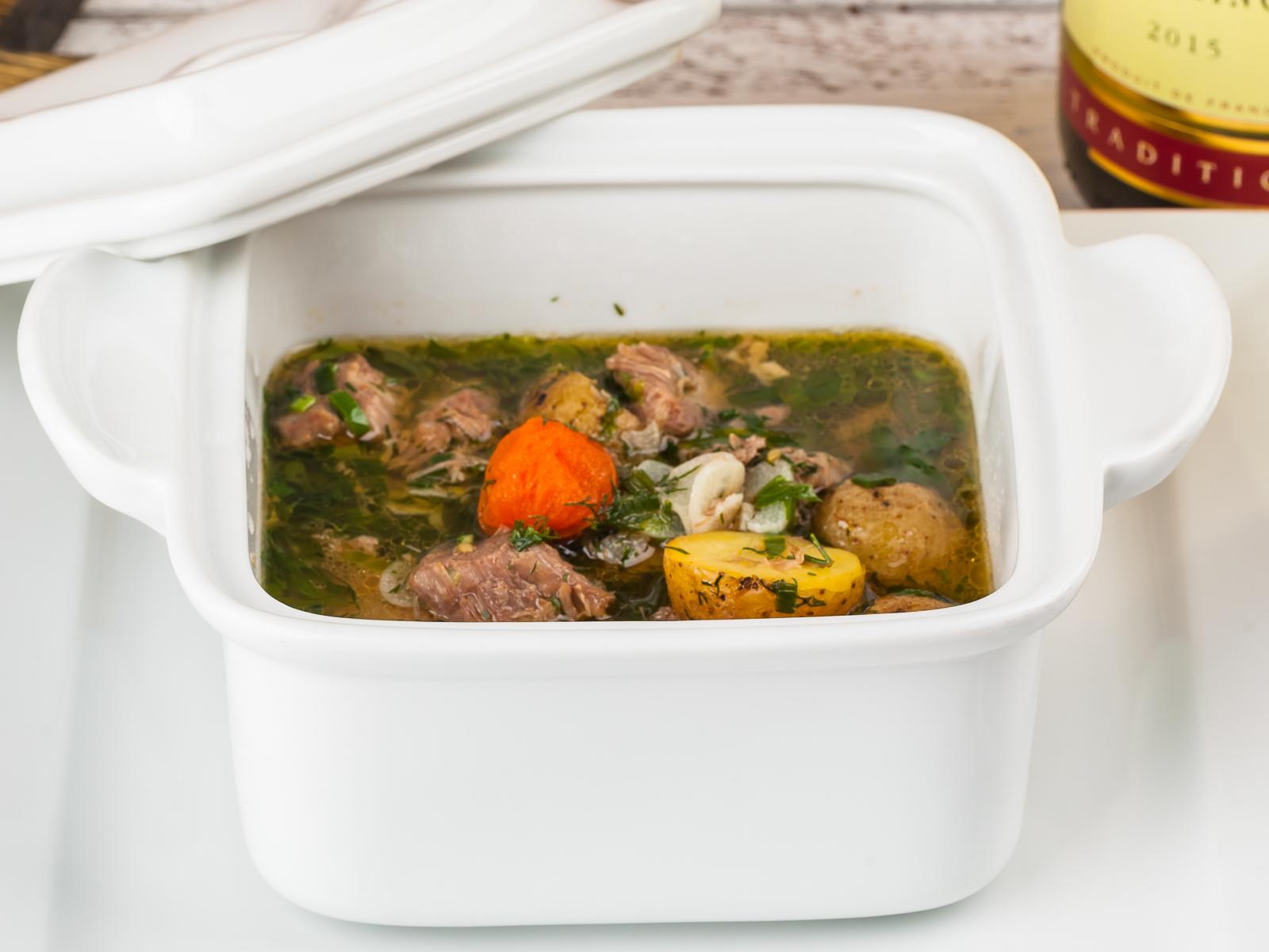 Суп Аньелло кон Вердуре