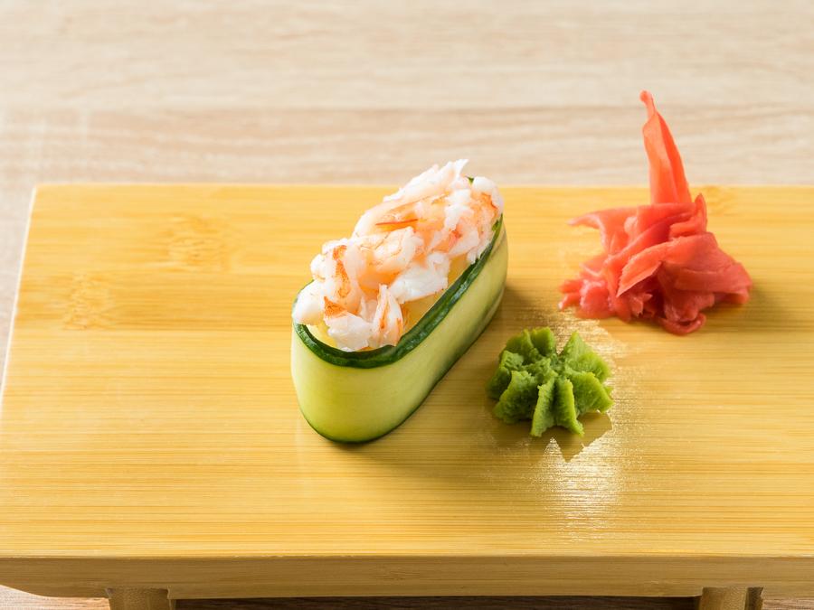 Каппа-суши с креветкой