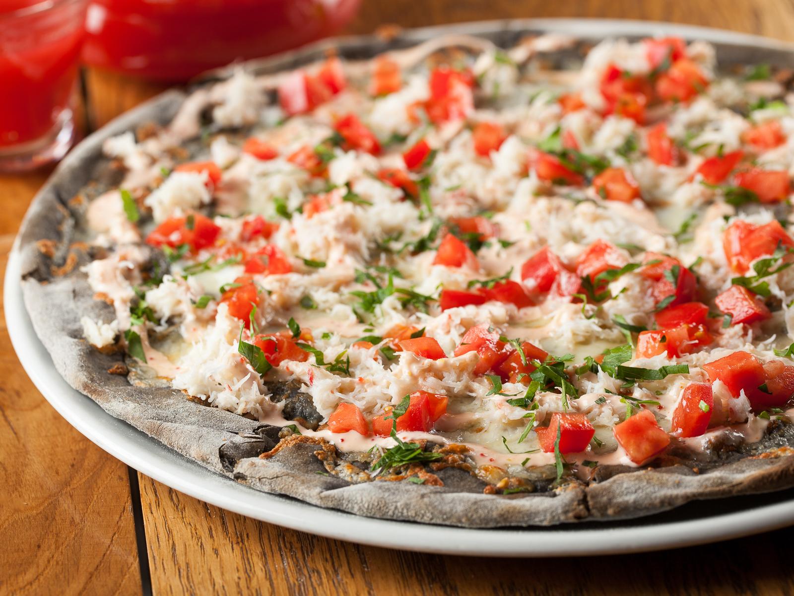 Пицца Краб Карри (280 г/450 г)