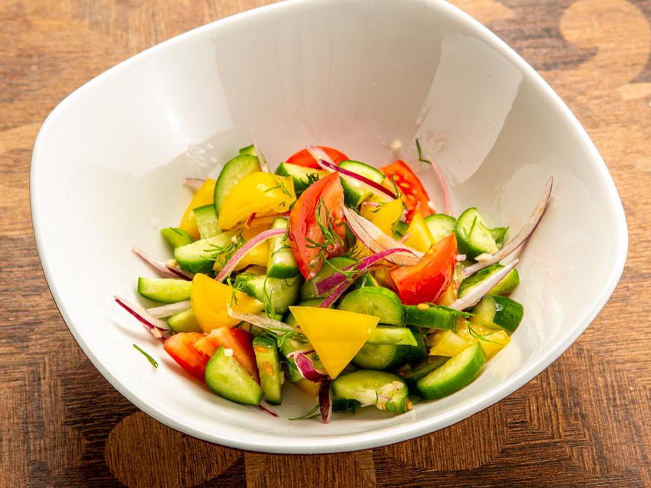 Салат Овощной тещин, но вкусный