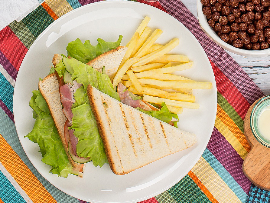 Сендвич с ростбифом