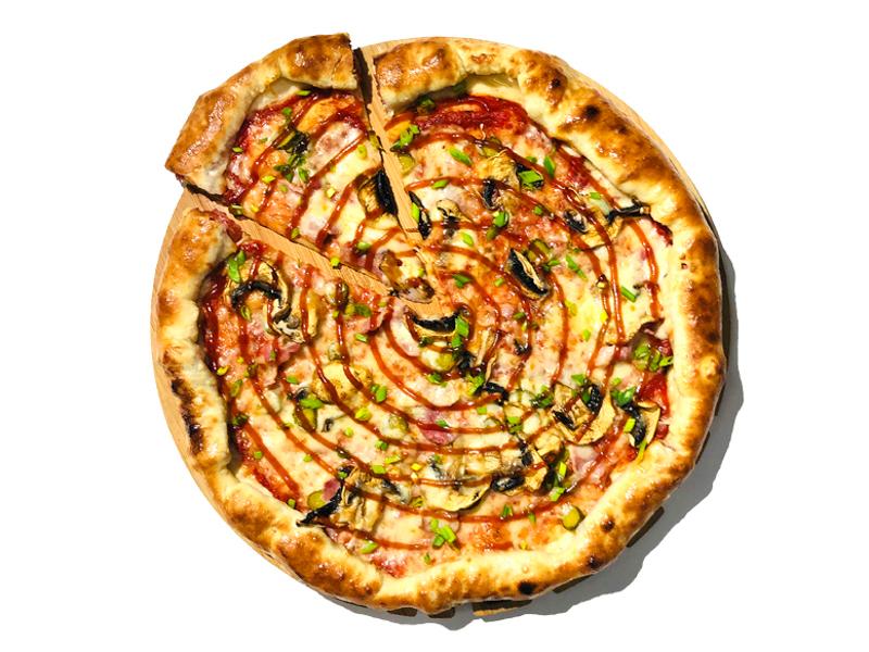Пицца Баварская с бортами