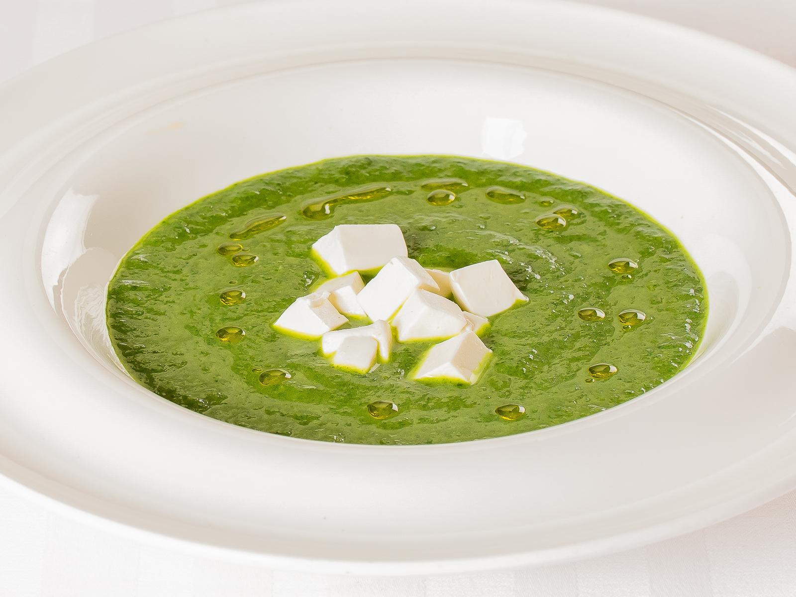 Шпинатовый крем-суп