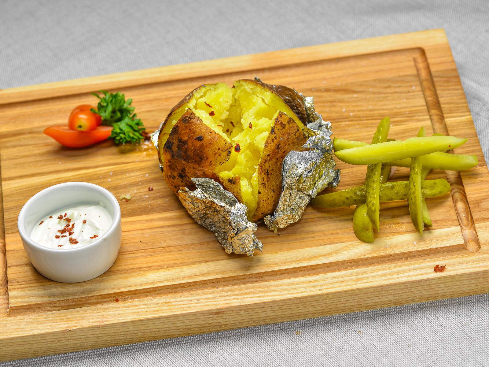 Картофель запеченный гриль