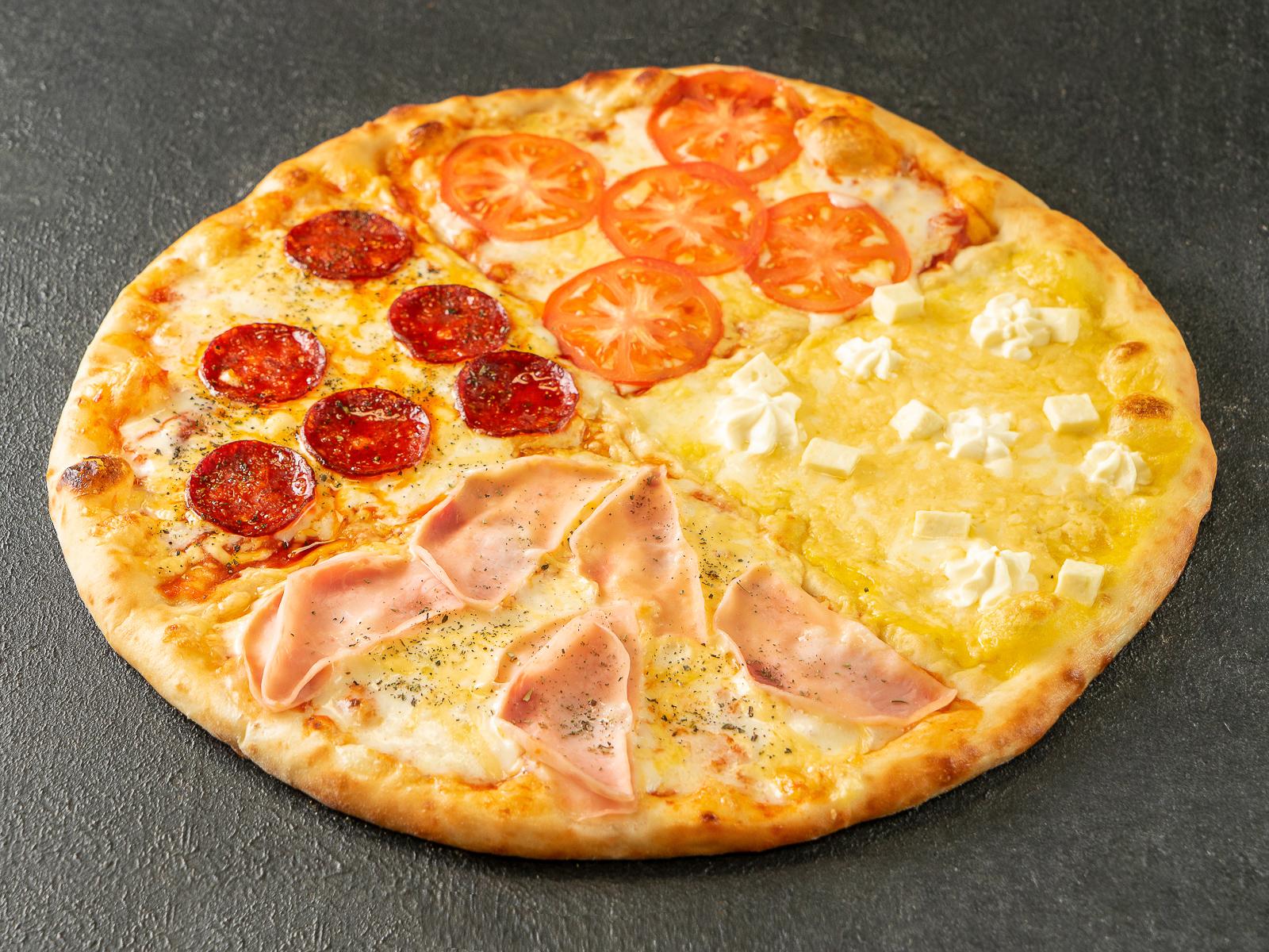 Пицца Квадро