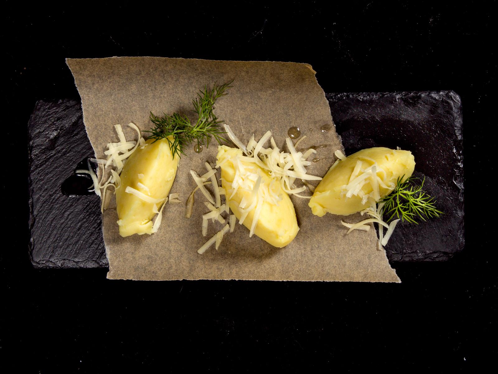 Мятый картофель