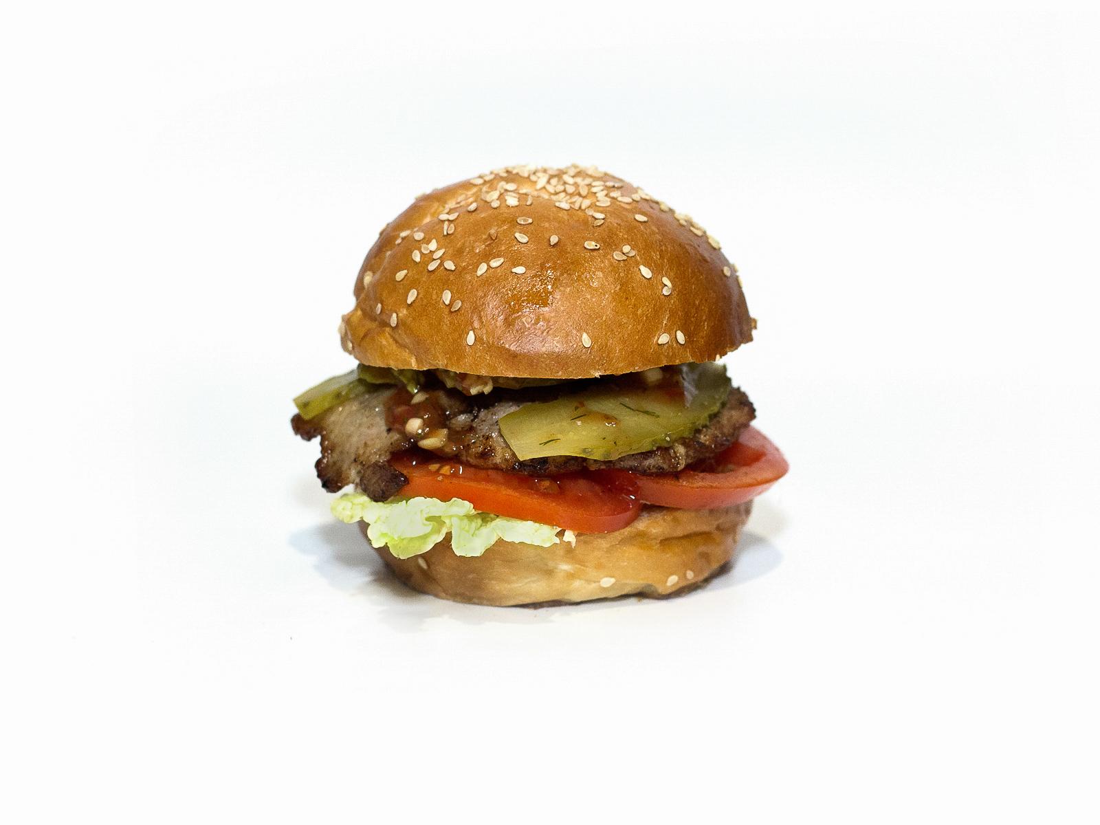 Бургер Острый