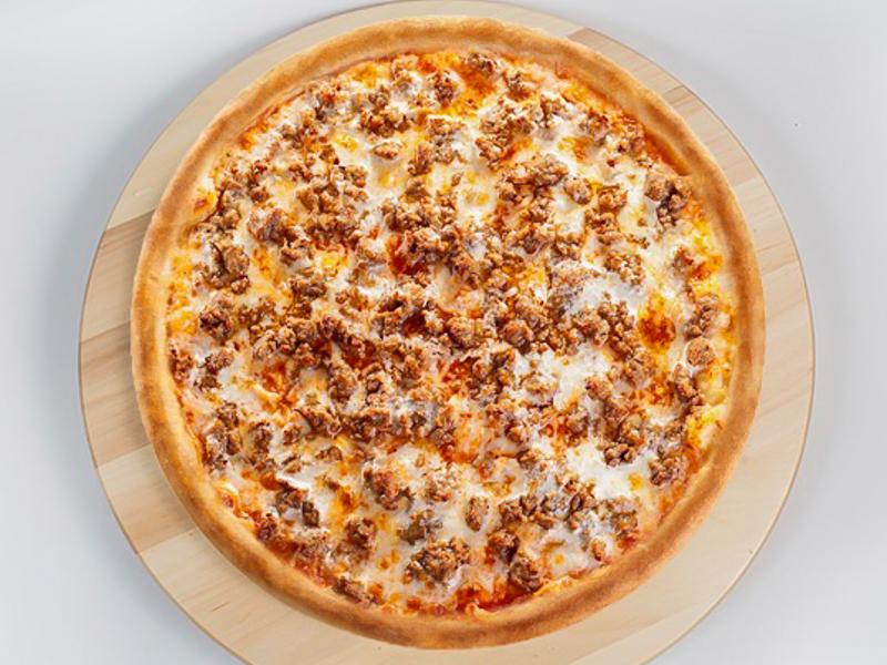 Пицца с бараниной