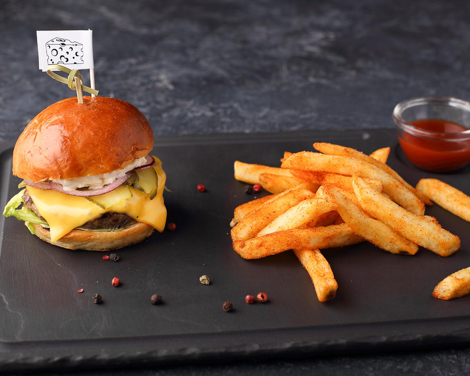 Мини-бургер Чизбургер