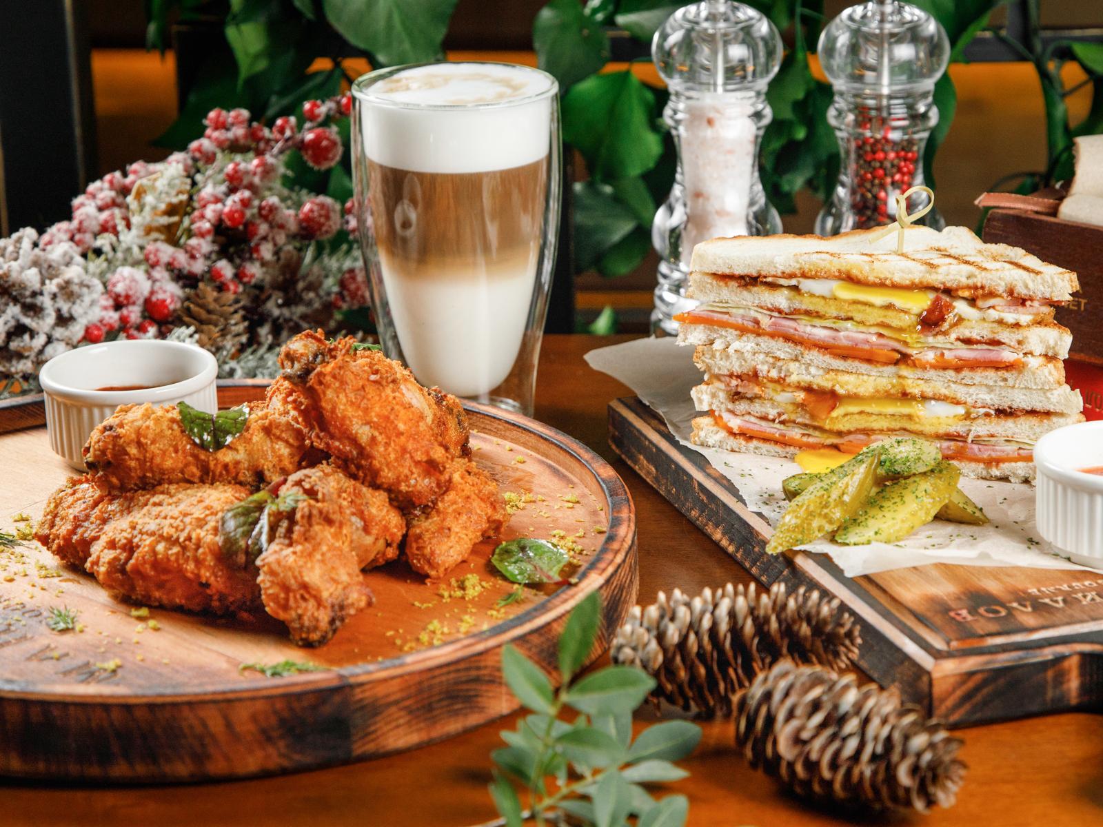 Ресторация современной сибирской кухни Маниллов Gourmet
