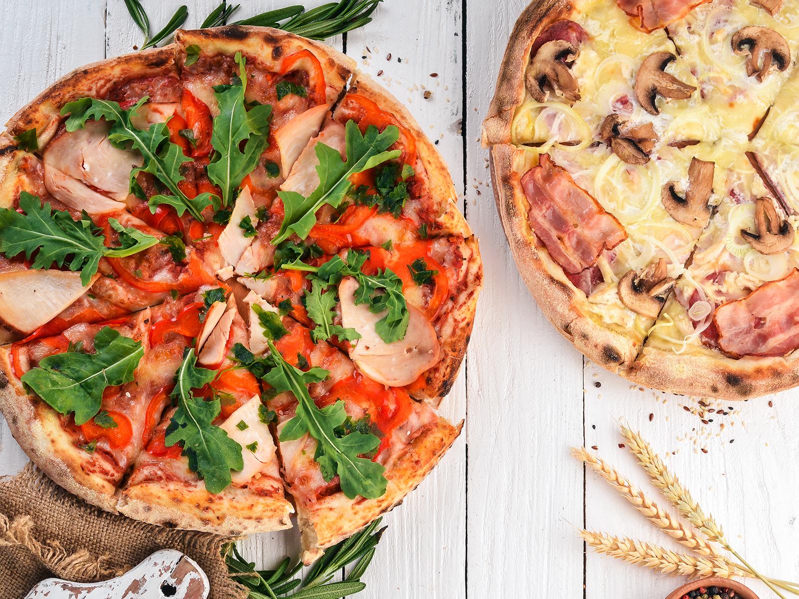 Chicken-pizza