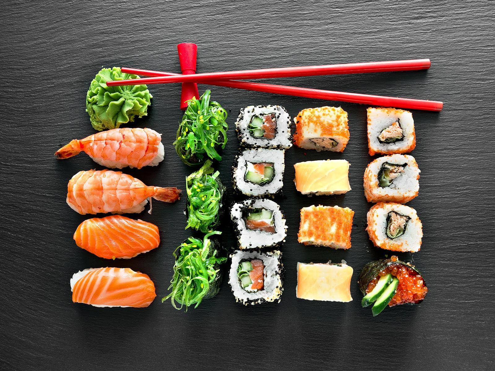 Sushi.Есть