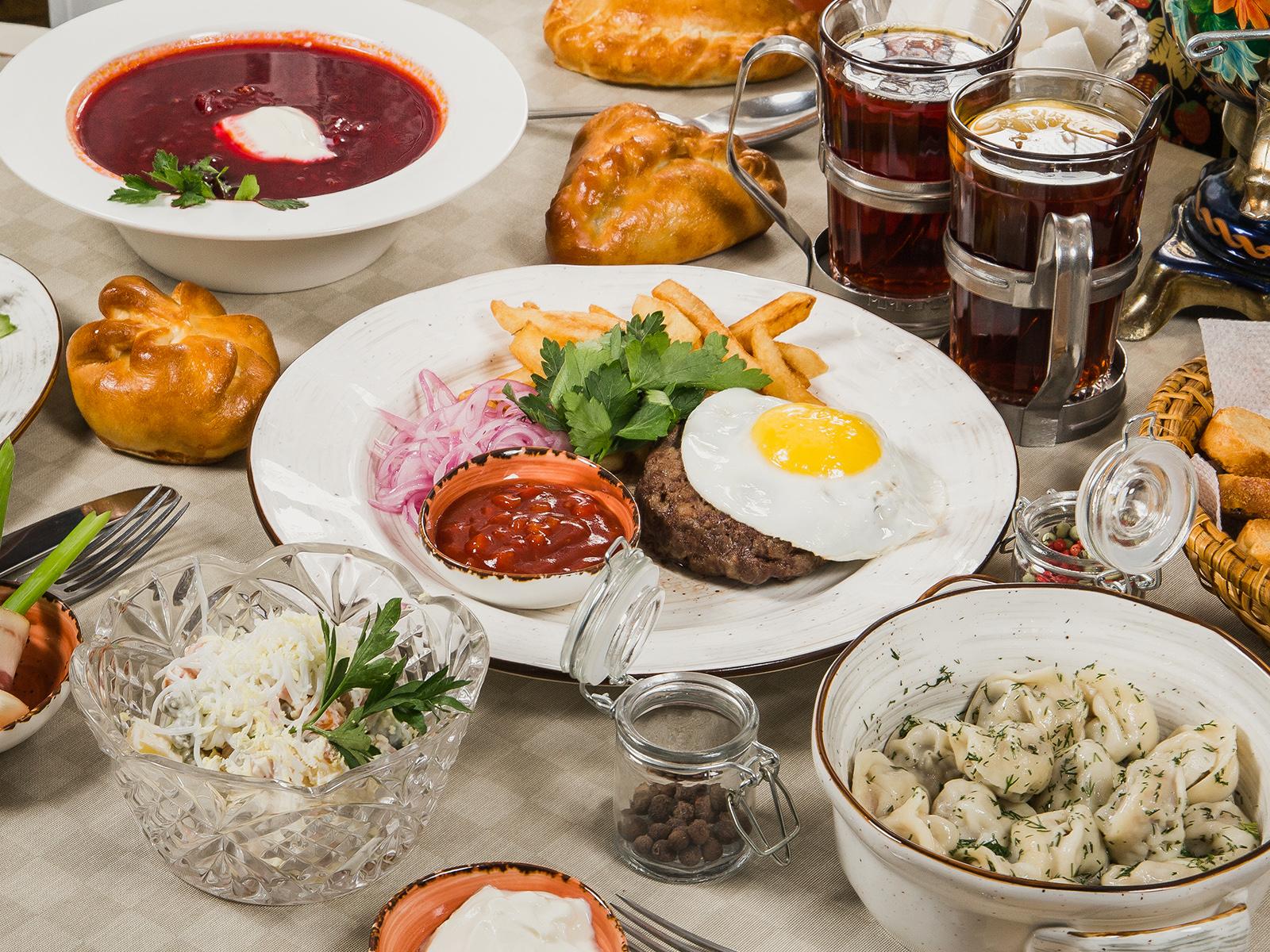 Советское кафе Дачники