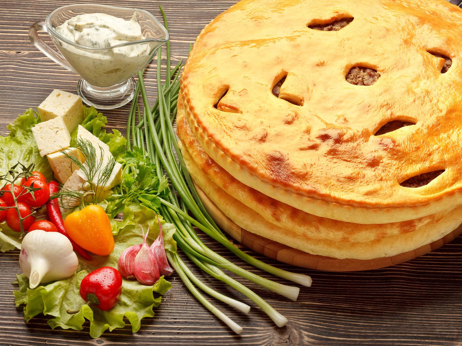 Осетинские пироги Люкс