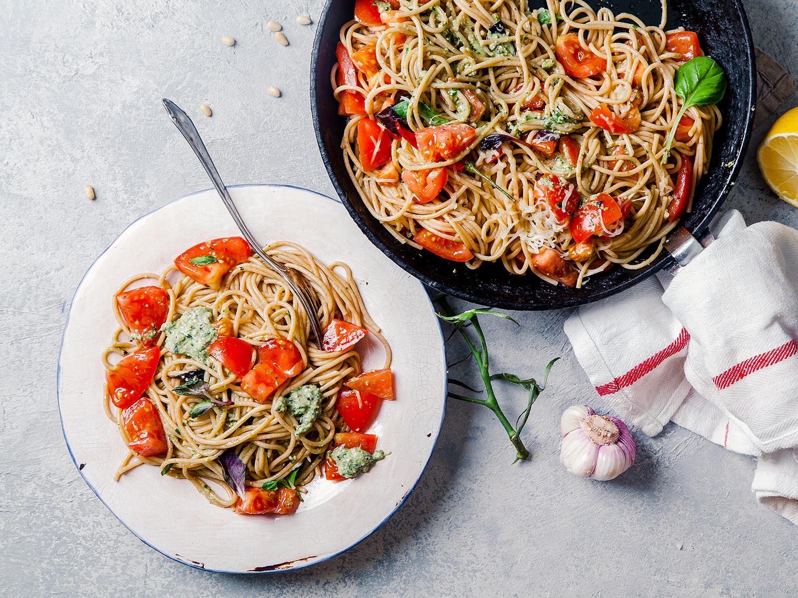 Carbonara fresh pasta bar