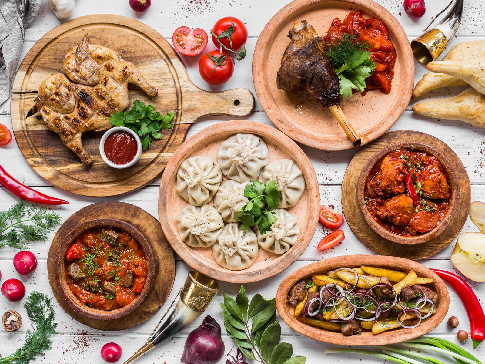 Аджарули грузинская кухня